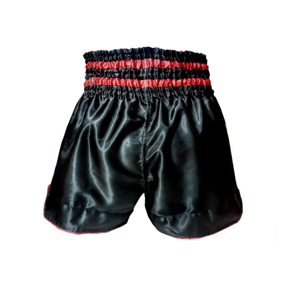 Han Muay Thai shorts The Great Demon - BLACK - The Fight Factory