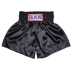 Han Muay Thai Shorts Black - The Fight Factory
