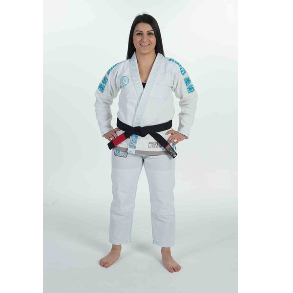 Budo Female 2.0 Ripstop Pro Lite White - The Fight Factory