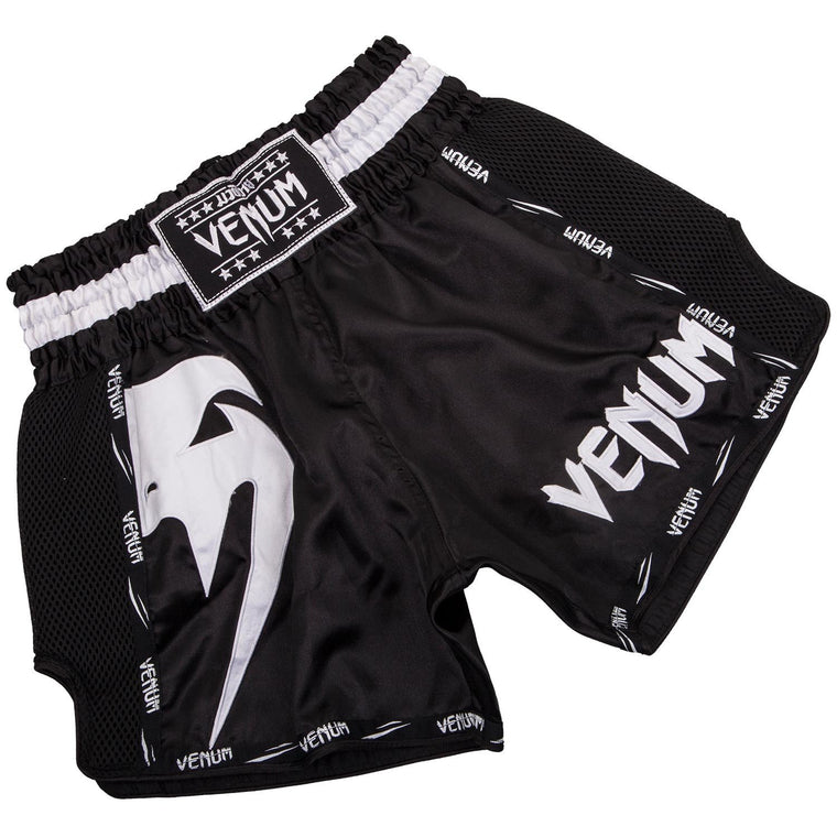 Venum Giant Muay Thai Short Black/White