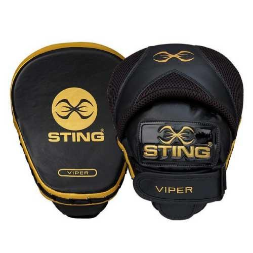 Sting Viper Speed Focus Mitts - Black/Gold