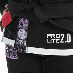 Budo Ripstop Pro Lite Bjj Gi 2.0 Gi Black - The Fight Factory