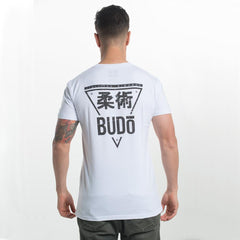 Budo - Triangle T-Shirt White - The Fight Factory