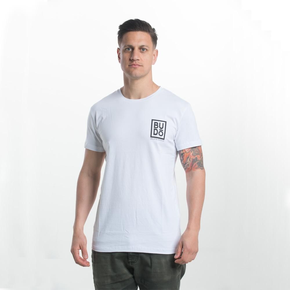 Budo Scoop Tee White - The Fight Factory