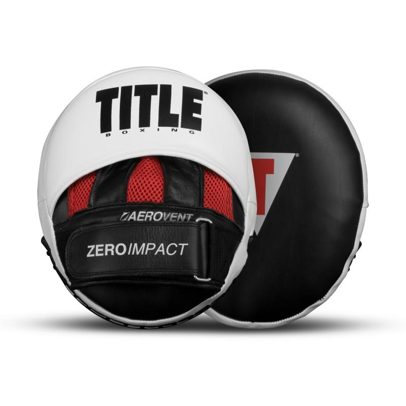 "Title Zero-Impact ""Rare Air: Punch Mitts 2.0 - The Fight Factory"