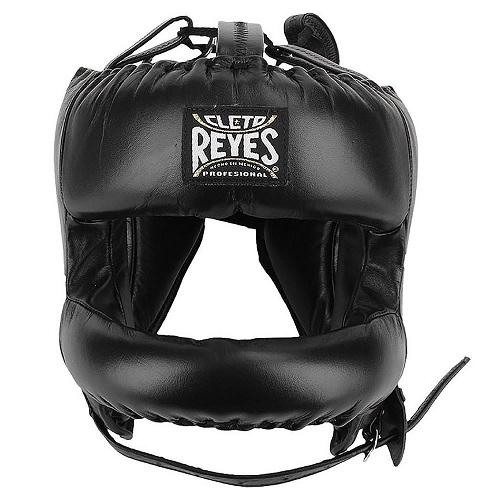 Cleto Reyes Face Bar Boxing Headgear Black - The Fight Factory