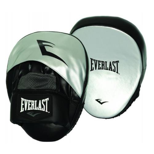 Everlast Impact Ex Punch Mitts Silver - The Fight Factory