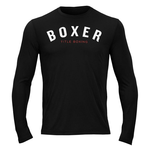 Title Boxing Boxer Long Sleeve Wicking Tee