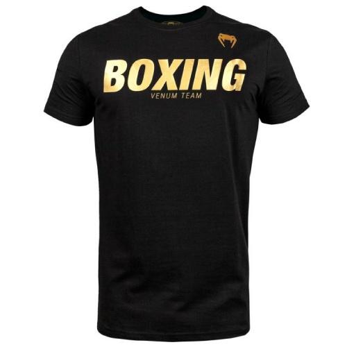 Venum Boxing Vt T-shirt - Black/Gold