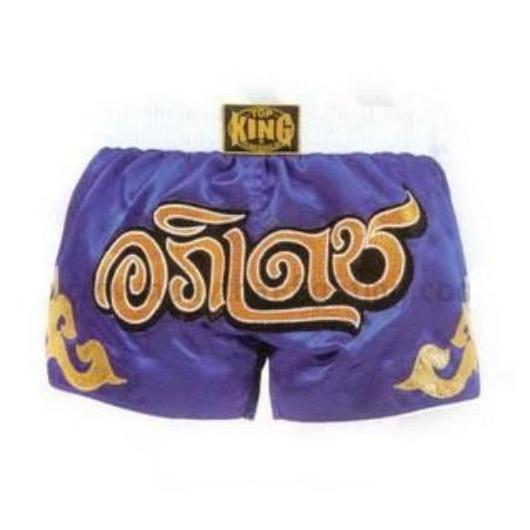 Top King Retro Muay Thai Shorts Tkrms-002 - The Fight Factory