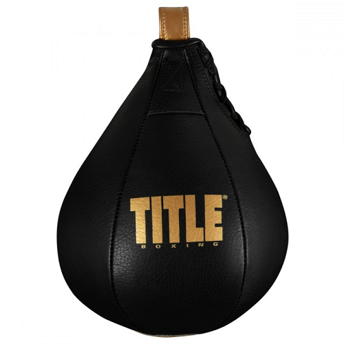 Title Boxing Hightail Leather Speed Bag