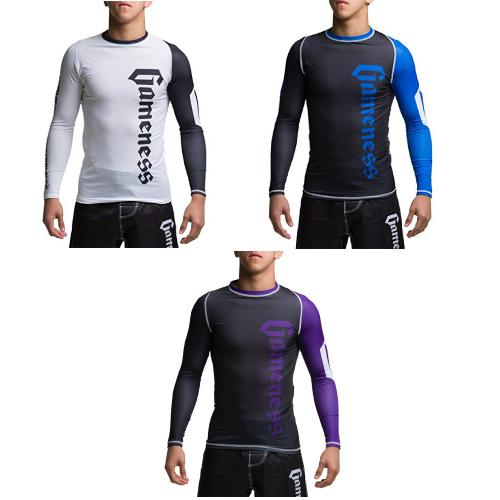 Gameness Pro Ranked Rash Guards Long Sleeve