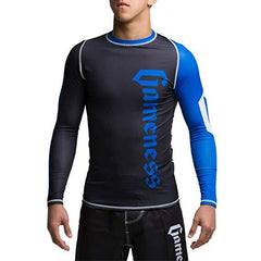Gameness Pro Ranked Rash Guards Long Sleeve - The Fight Factory