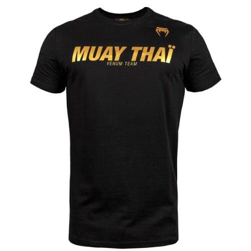 Venum Muay Thai Vt T-shirt - Black/Gold