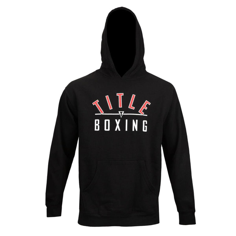 Title Boxing Training Black Hoodie