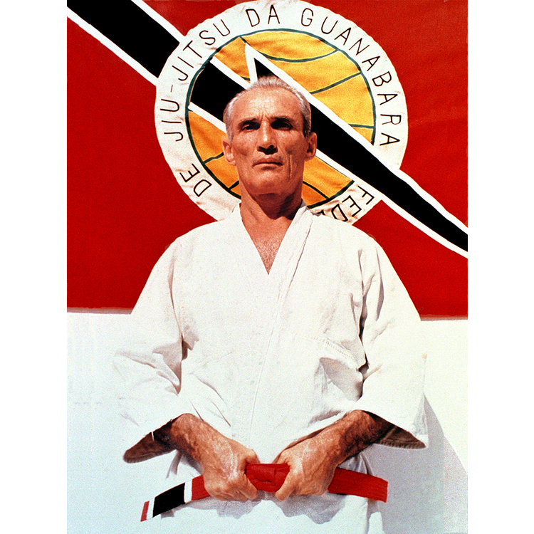 Gracie Large Grand Master Helio Gracie Poster (24x36