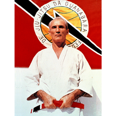 "Gracie Large Grand Master Helio Gracie Poster (24x36"") - The Fight Factory"