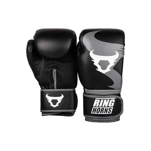 Ringhorns Charger Boxing Gloves - Black - The Fight Factory