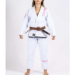 Grips Primero Competition Womens BJJ Gi - White - The Fight Factory