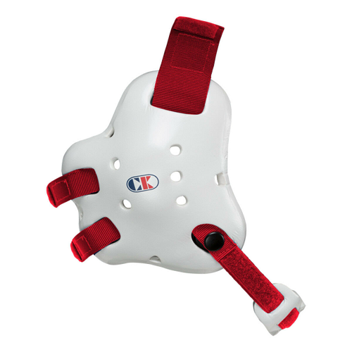 Cliff Keen Fusion Headgear White Red - The Fight Factory