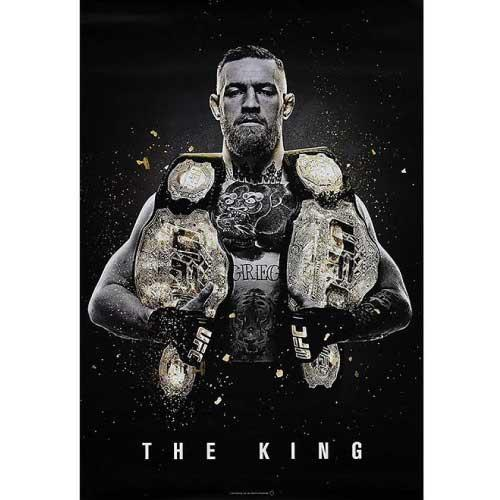 "UFC Conor McGregor ""The King"" Poster - The Fight Factory"