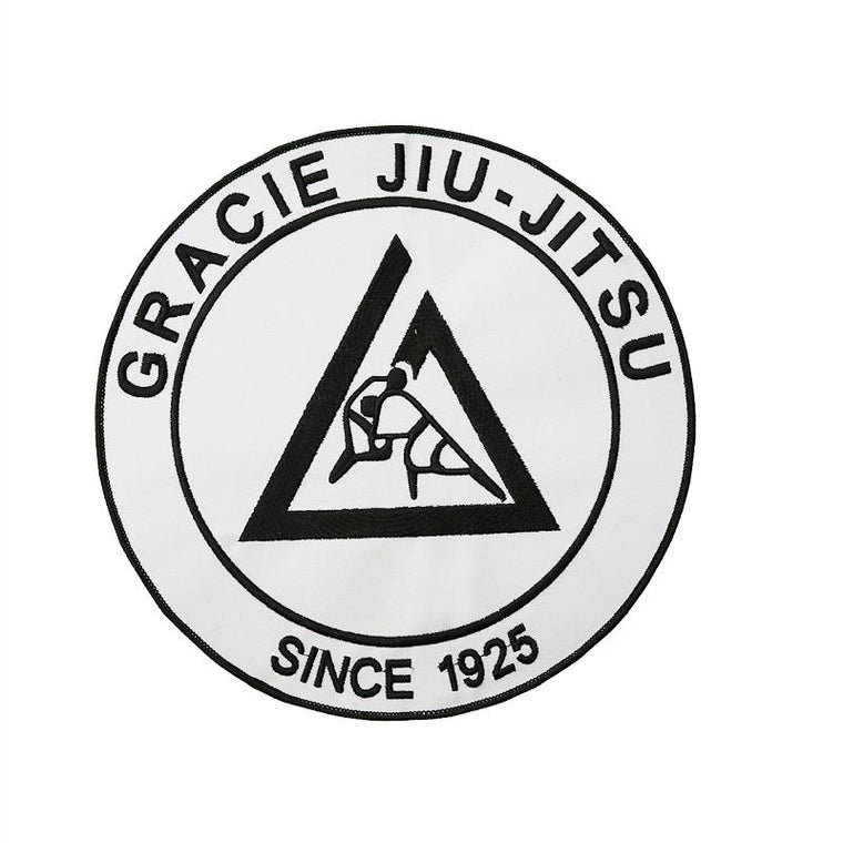 Gracie Large Embroidered Gi Patch (9X9
