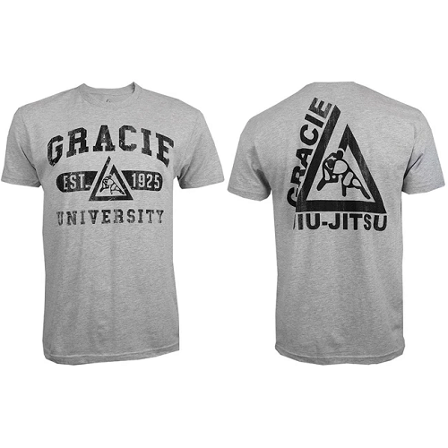 Gracie Jiu Jitsu University T Shirt