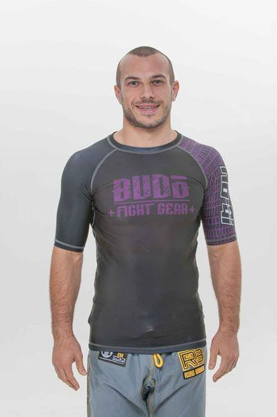 Budo Graphic Short Sleeve Rash Guard - The Fight Factory