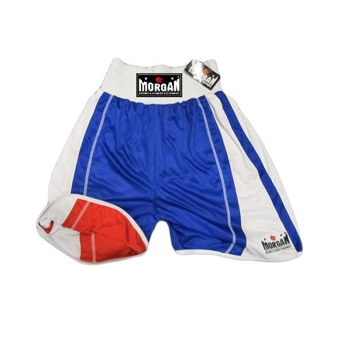 Morgan Boxing Shorts Reversible Amateur Blue/Red