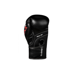Title Classic Kids Black Max Boxing Gloves - The Fight Factory