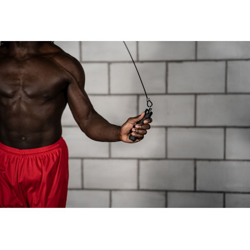 Title Super Cable Pro Speed Rope - The Fight Factory
