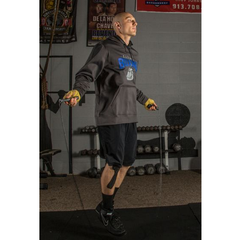 Title Weighted Plastic Sized Speed Rope - The Fight Factory