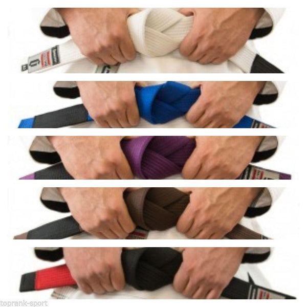 Gameness Adult BJJ Belts - The Fight Factory