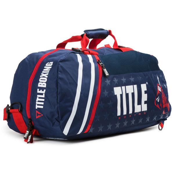 Title World Champion Sport Bag/Back Pack 2.0 Blue - The Fight Factory