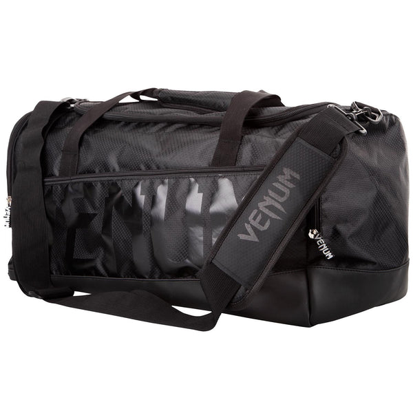 Venum Sparring Sport Gear Bag - Black Black - The Fight Factory