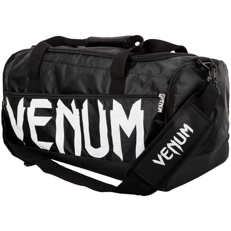 Venum Sparring Sport Bag - Black White
