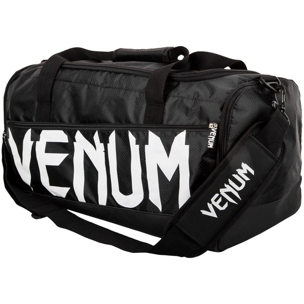 Venum Sparring Sport Bag  Black White