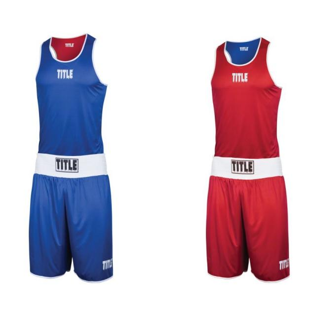 Title Reversible Elite Amateur Boxing Set 1