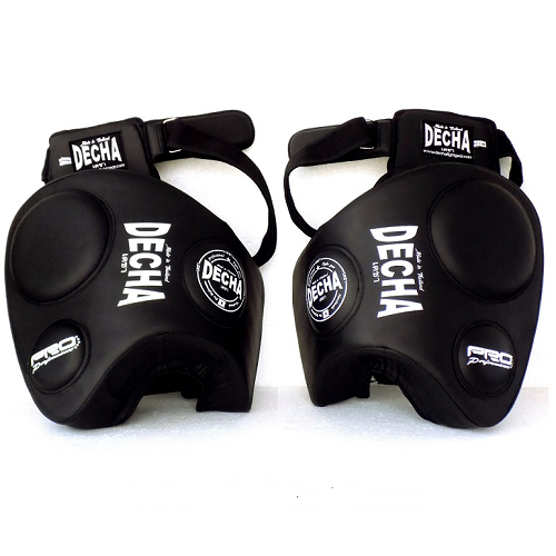 Decha Thigh Pads Pro Performance Dtpm3 Black - The Fight Factory