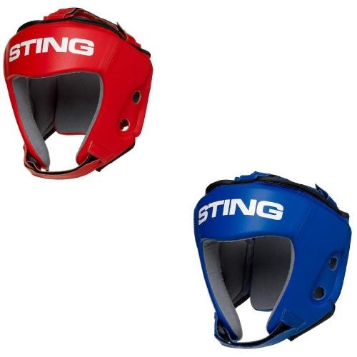 Sting Aiba Approved Competition Boxing Headguard