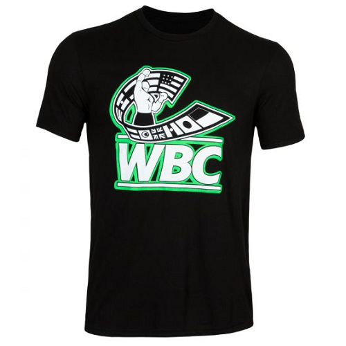 Wbc By Title Boxing Flag Tee