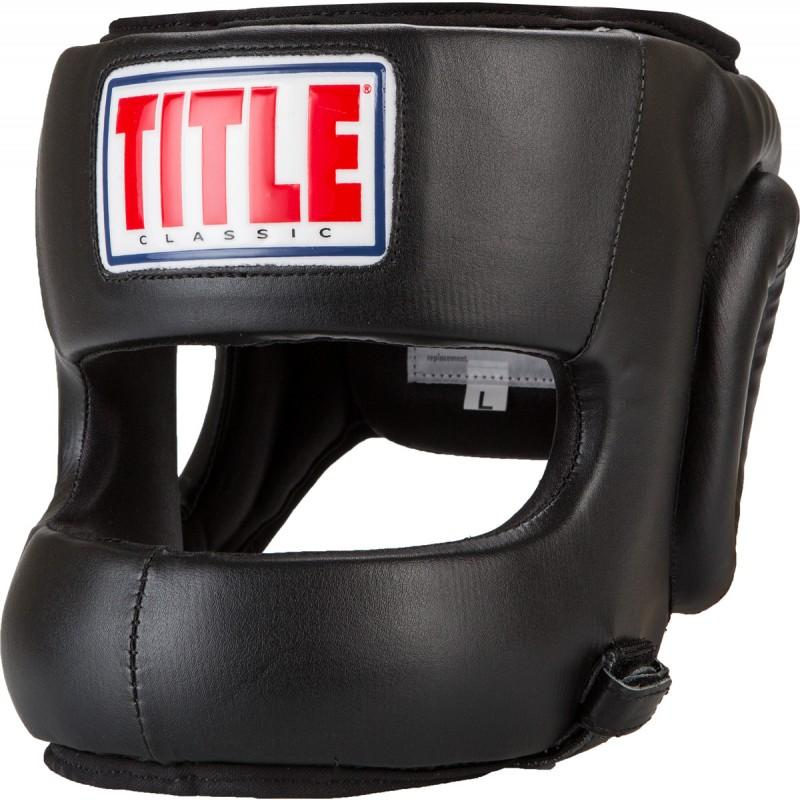 Title Boxing Classic Face Protector Headgear - The Fight Factory