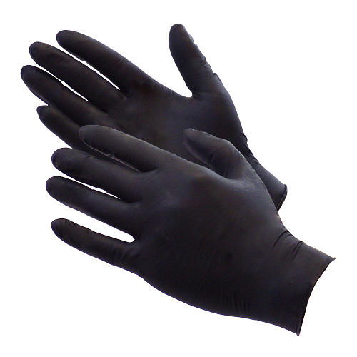 Pro Corner Black Nitrile Cornerman Gloves