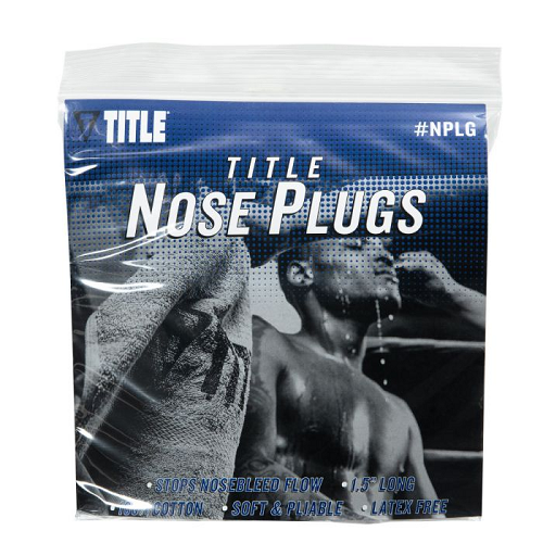 TITLE Boxing Nose Plugs – 50 Pack