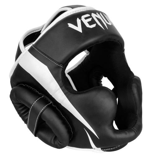 Venum Elite Headgear - Black White