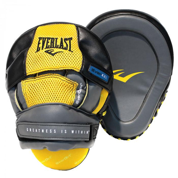 Everlast Evergel Precision Boxing Focus Mitts - The Fight Factory