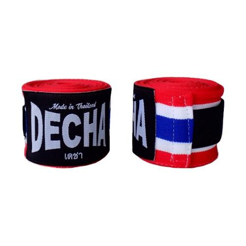 Decha Muay Thai Boxing Handwraps Thai Flag