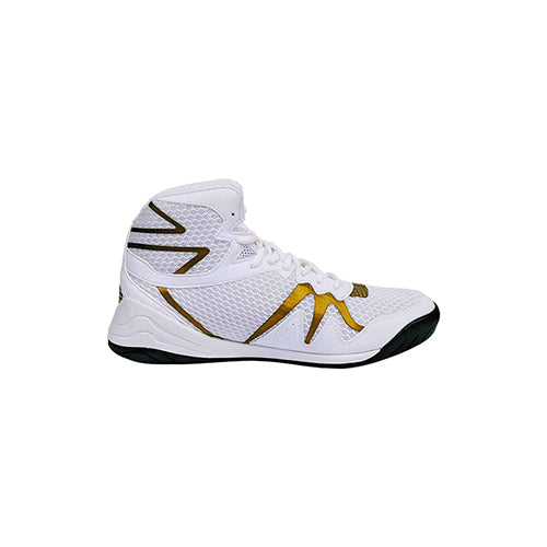 Everlast PIVT Low Top Boxing Boots - White Gold - The Fight Factory