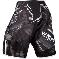 Venum Gladiator 3.0 Fightshorts - Black/White - The Fight Factory