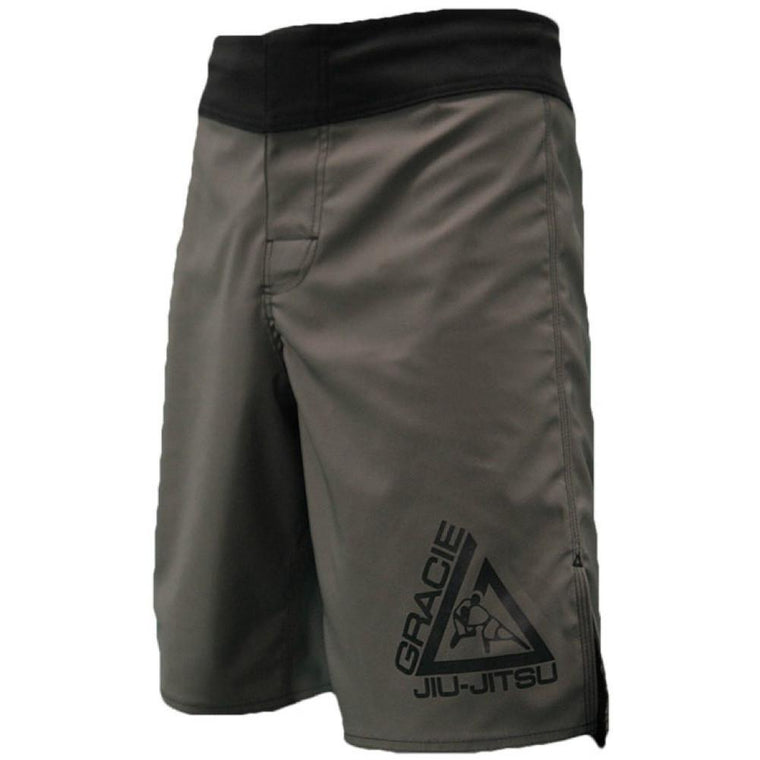 Gracie Undercover Grey Fight Shorts